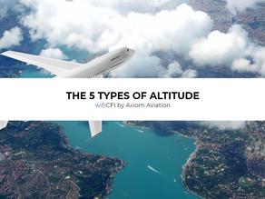 5 TYPES OF ALTITUDE