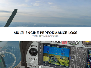 MULTI ENGINE PERFORMANCE LOSS