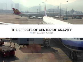EFFECTS OF CENTER OF GRAVITY