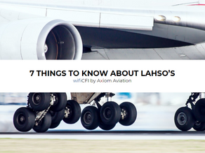 7 THINGS TO KNOW ABOUT LAHSO'S