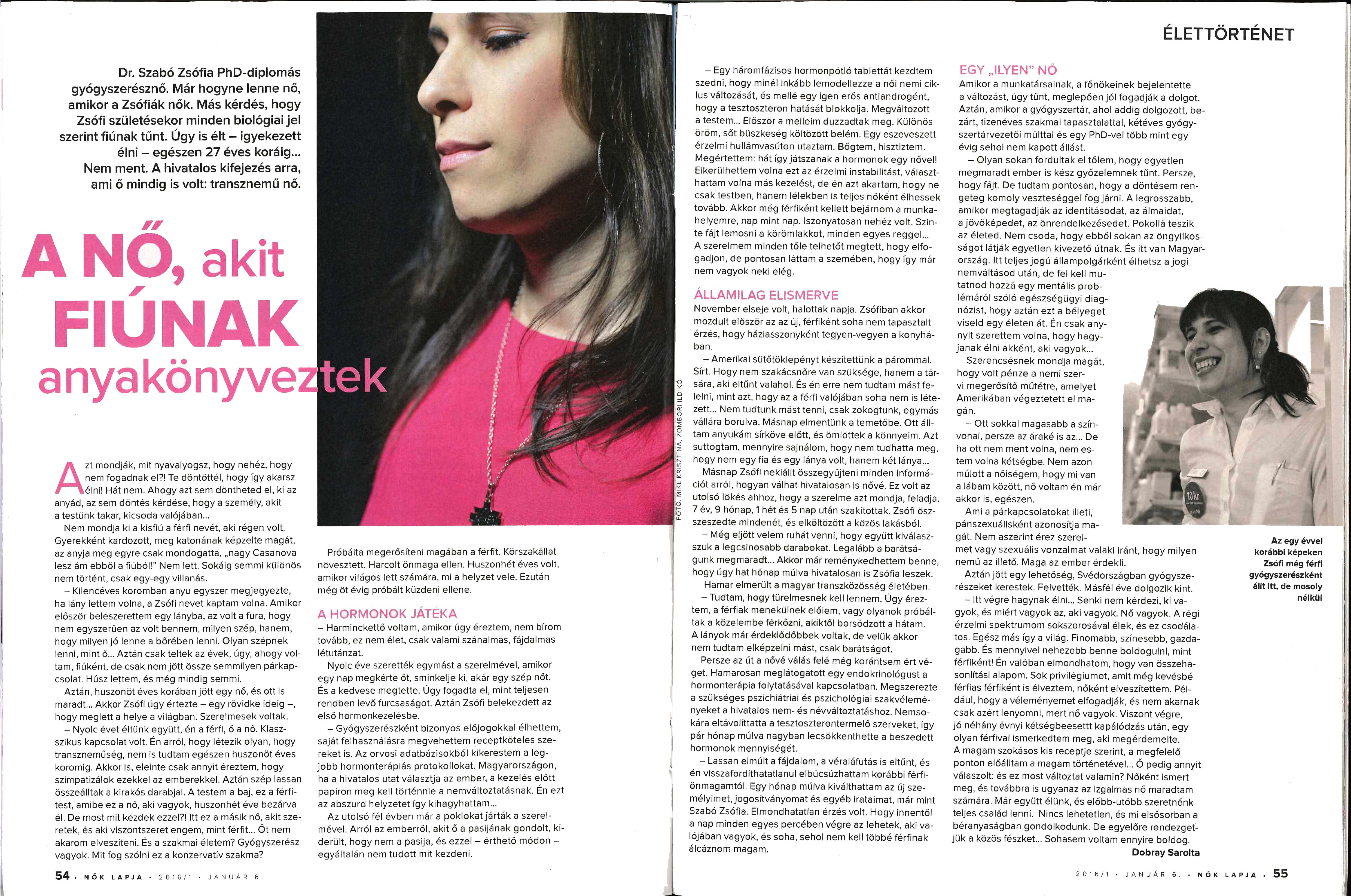 Women's magazine - Sophie
