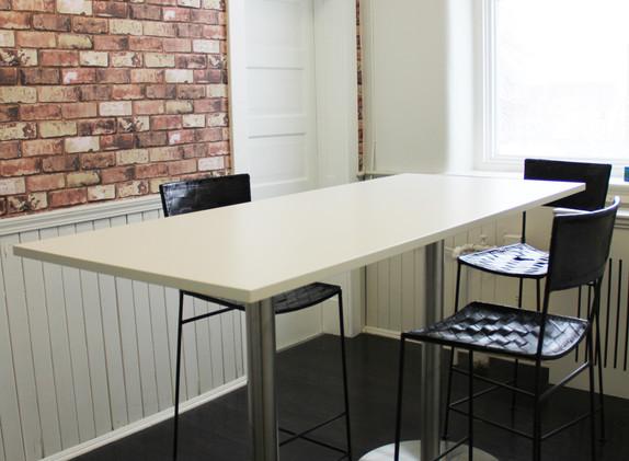 Private office breakroom