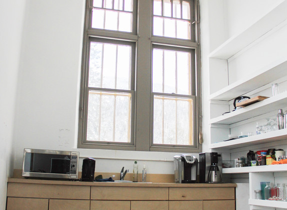 Shared space kitchenette
