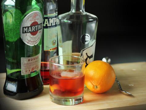 Negroni | Wild Life Barrel-Aged Gin Cocktail