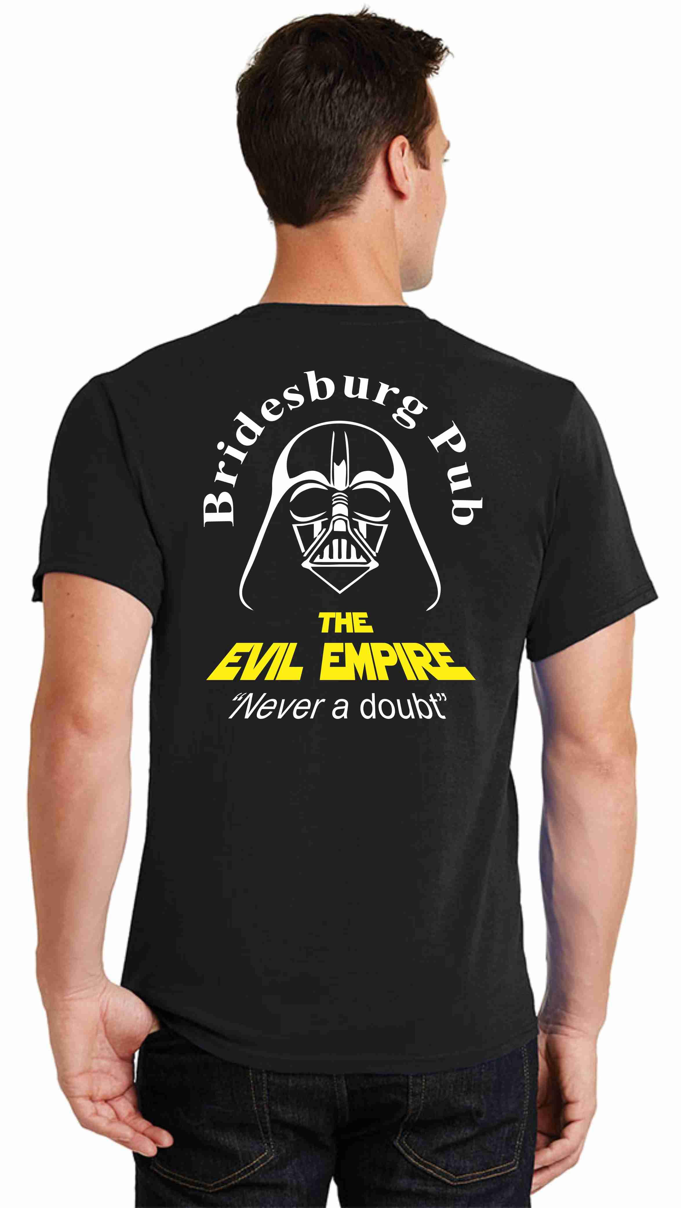 Bridesburg Pub Evil Empire shirts
