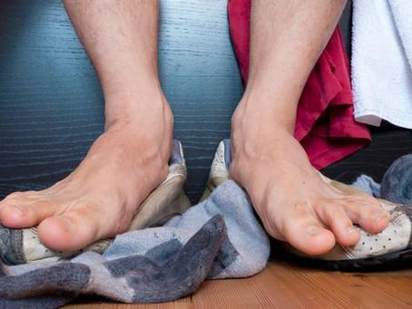 Puer des pieds est génétique: oui ou non?