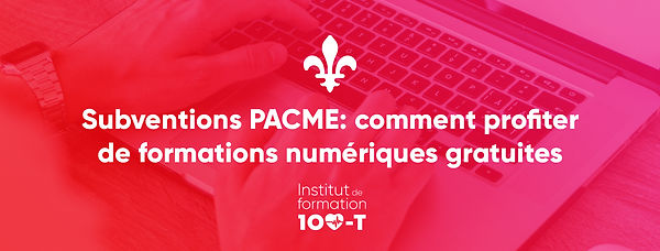 PACME subventions