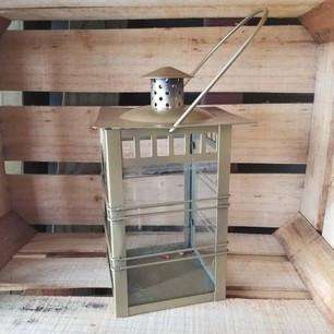 Gold 11in Lantern-$3 (QTY 1)