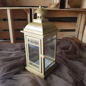 Gold Lantern 14in -$4 (QTY 1)