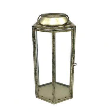 12.6 inch Gold Lantern-$10 (QTY-2)