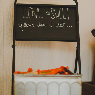 Chalkboard with Tin Container- $5 each QTY2