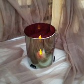 Gold Candle Holder-$2 each Qty-4