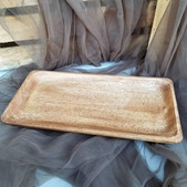 Long Wooden Plate - $4 (QTY 1)