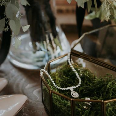 Glass Jewelery Box- $5 QTY 1