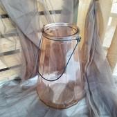 Clear Amber Lantern - $3 (QTY 2)