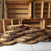 Wood Slabs Small -$2 (QTY 21)