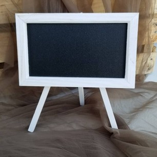 Large White Chalkboard Sign