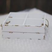 White 4 square- $3 (QTY 3)