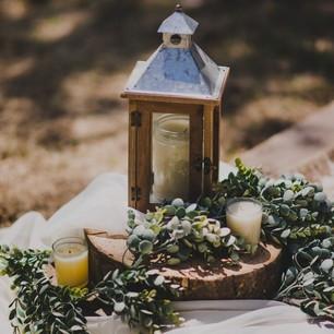 Wooden Lantern -$3 (QTY 2)