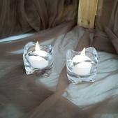 Tea Light Holders-$.50 ea (Qty-63)