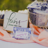 Favors Sign- $4