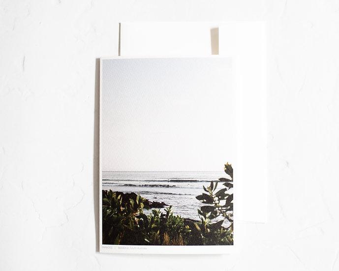 Paradise Blank Card