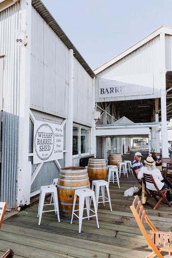 Wharf Barrel Shed, Goolwa