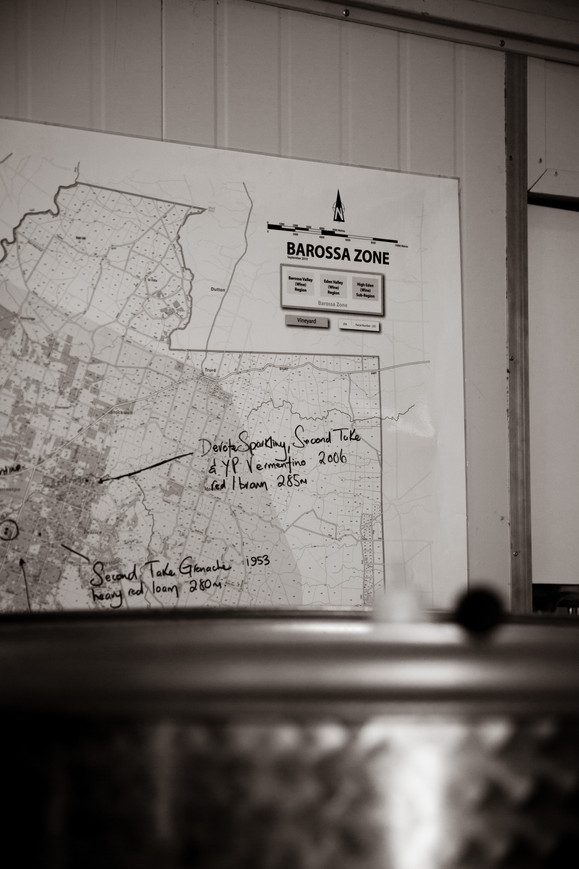 Barossa Map