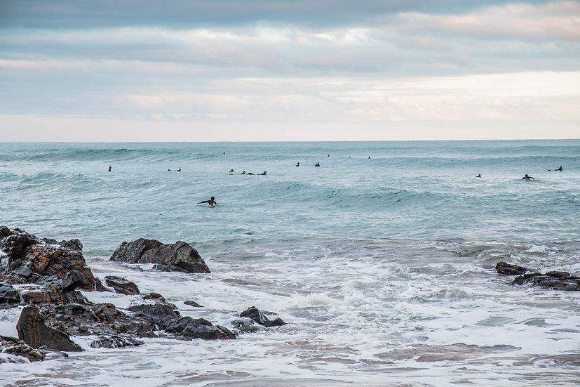 "A Middleton Winter Surf 20"" x 30"""