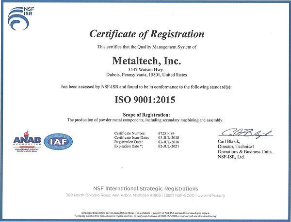 metaltech-iso-9001-certificate-powder-metal