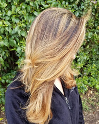 Hair blown and oh so beautiful 💛_•_•_•_