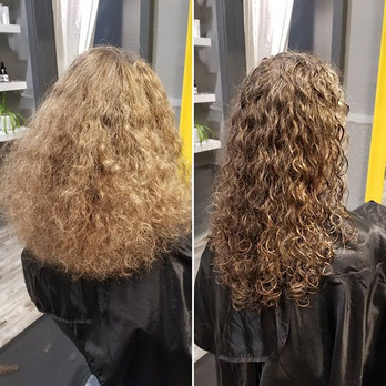 Shaping Vs Styling with Deva Curl 💛_•_•