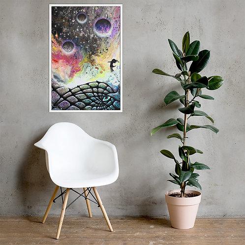 """""""Entropy"""" Framed poster"""