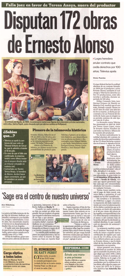 Reforma - Televisa disputa