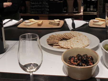 A blast from the past  - wine and cheese research tasting with Laithwaites 2015
