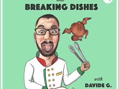 Cheesy Podcasts: Turning Chickens and Breaking Dishes, Davide G. Martins