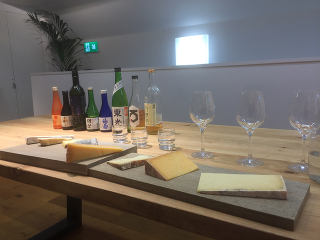 sake and cheese trials