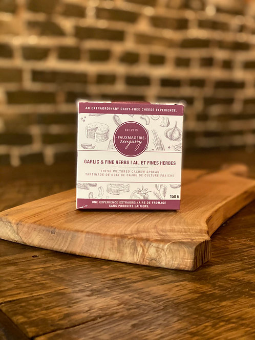 Fauxmagerie Garlic and Herb (Vegan)