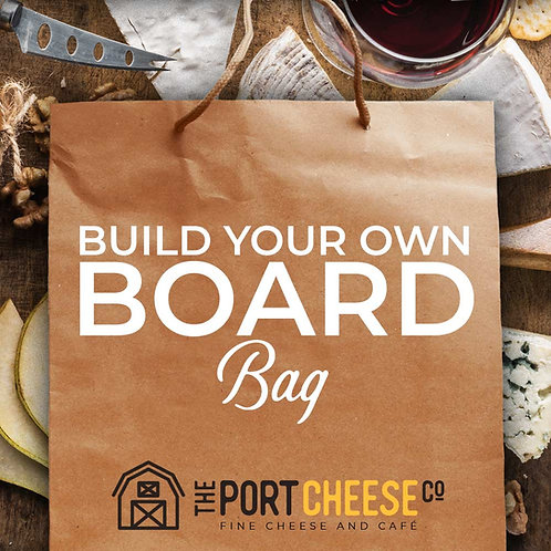 Build Your Own Board Bag 2 Cheeses and 1 Meat