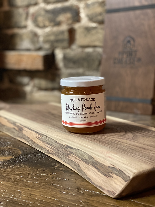 Fox & Forage Blushing Peach Jam