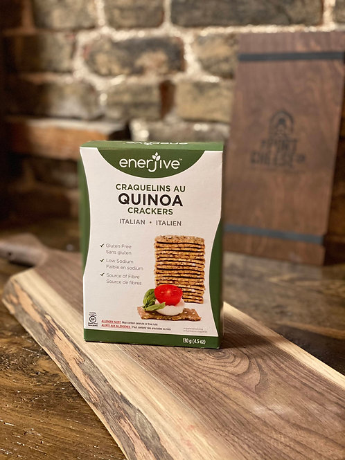 Enerjive Quinoa Crackers - Italian