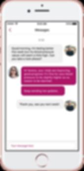 Femisphere secure messaging tool