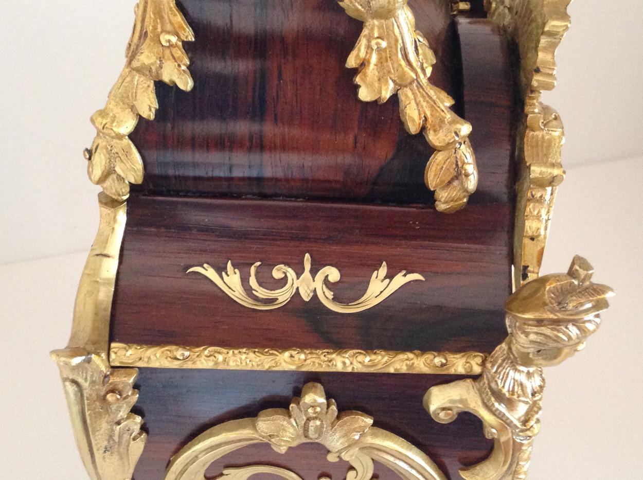 Raingo Freres Circa 1860 Louis XV Style Clock