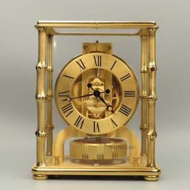 Rare Bamboo Case Atmos Clock