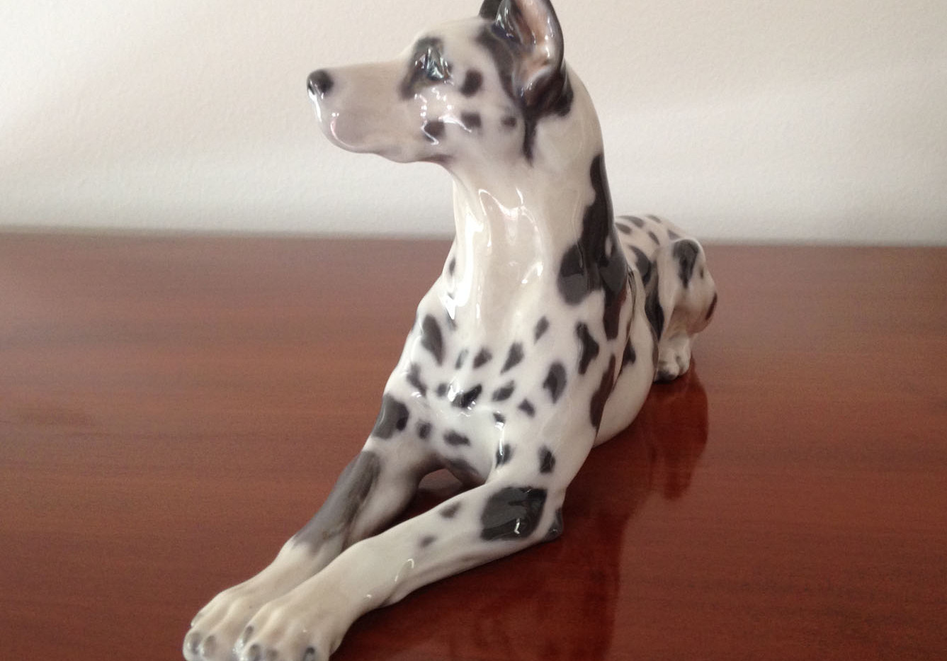 Royal Copenhagen Porcelain Dog