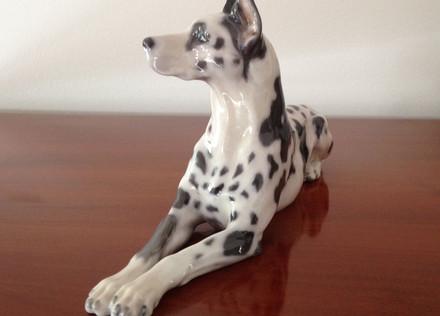 Royal Copenhagen Porcelain Dog