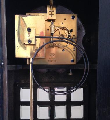 Lenzkirch Art Deco Mantel Clock