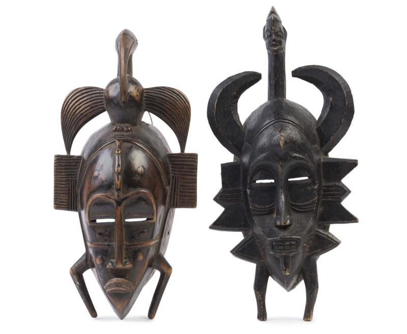 West African Tribal Masks