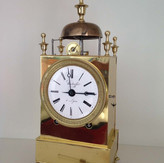 French Capucine Officers Clock