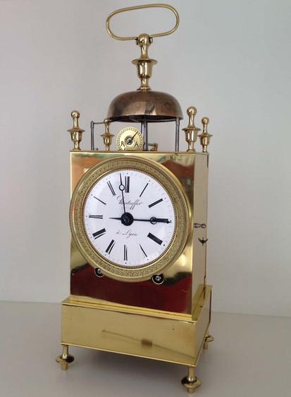 French Capucine Clock